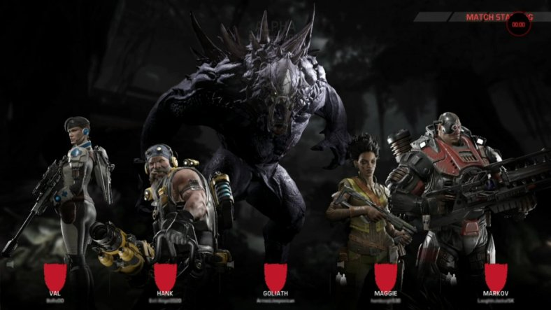 evolve-characters